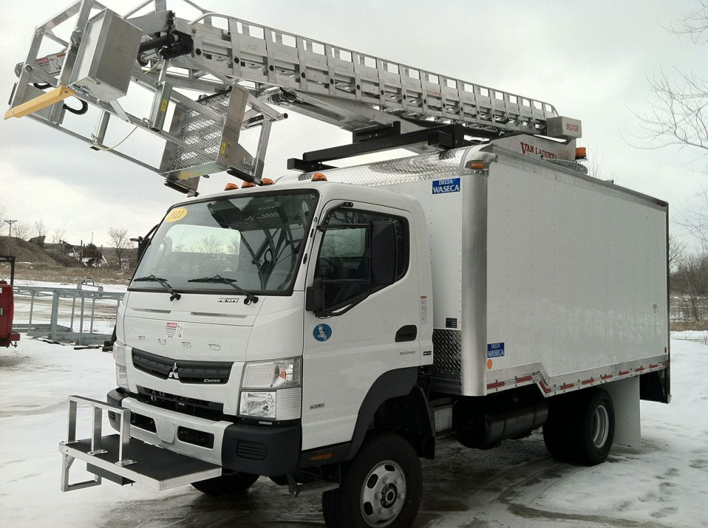 Van Ladder Bucket Trucks - Vehicle Types